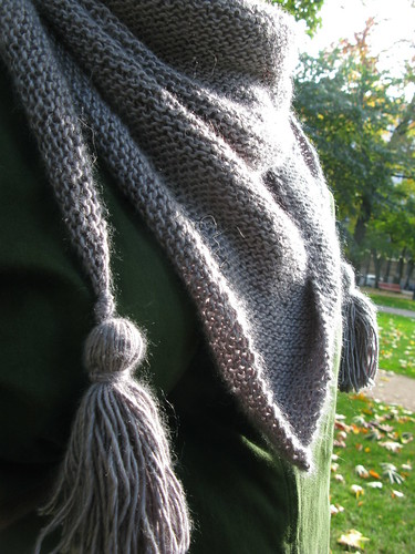 Knitted: a comfort scarf