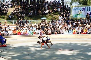 Ssirum (ssireum 씨름) Korean Folk Wrestling in North Korea