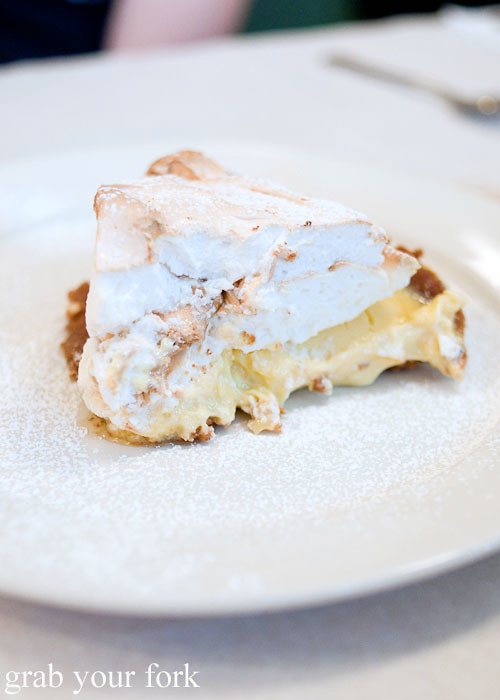 key lime meringue pie dessert at clinton street baking company new york nyc lower east side