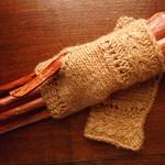 gull stitch mitts