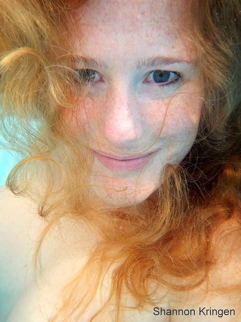 Goddess Kring Underwater Bahamas