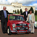 Photocall to mark 50th anniversary celebrations of Paddy Hopkirk's1964 Monte Carlo Rally victory, 10 October 2013