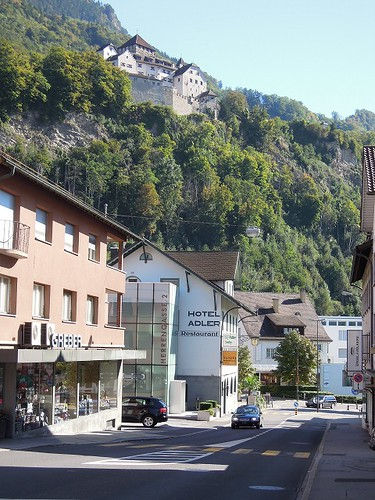 Vaduzの街にて