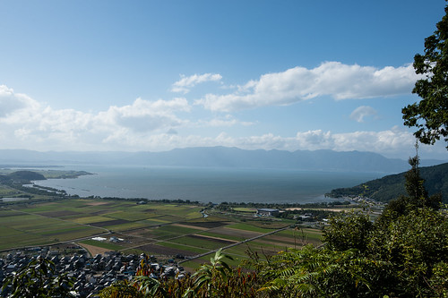 Biwa Lake from Hachiman mountain - 無料写真検索fotoq