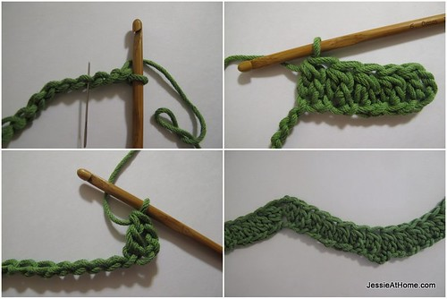 Faded-Ripple-Free-Crochet-Pattern-Row-1