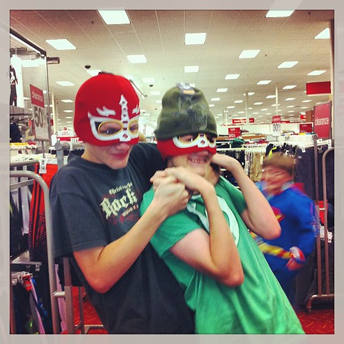 And Superman flies to the rescue. #target #mob #mobsociety #target #superman #brothers