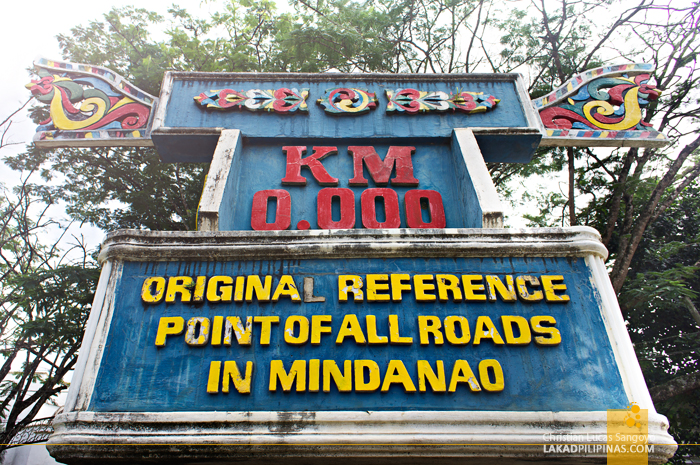 Mindanao KM 0 Marker in Marawi City