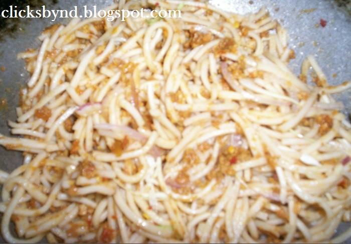 keema noodles