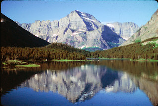 Two Medicine Lake - Glacier National Park, 1991