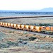 GWA010 train GWA004 GWA008 9612s Loaded Ore Eyre Highway Overpass Lincoln Gap-A 26 10 2013