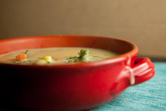 Creamy Cheesy Broccoli SoupIMG_7834
