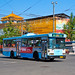 [Buses in Beijing]华宇 Huayu BJD-WG120A <Trolley-bus> 北京公交集团 BPT #95452 Line 101 Front-right at The Art Museum Crossing