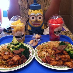Our lunch on Saturday with Dave...