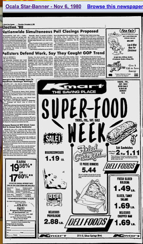 kmart sandwiches, November 6, 1980