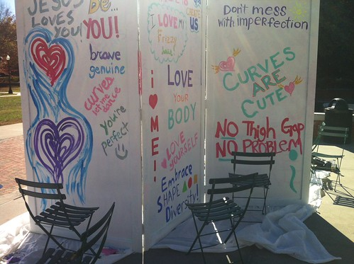 ZSR Graffiti wall at Gender Allies Event