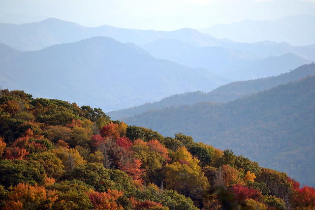 Tennessee Mountains in the Fall