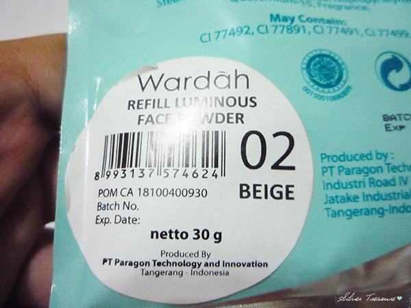 Wardah Loose Powder In Beige 05