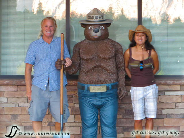PIC: Smokey the Bear at Red Rocks State Park, Sedona, Arizona