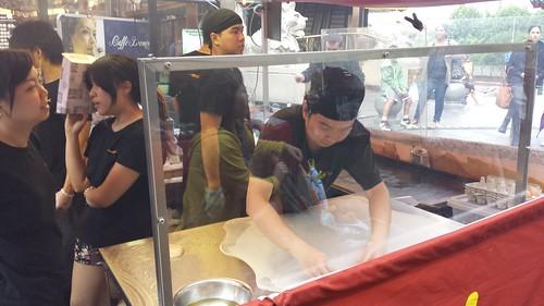 Chinatown Night Market: Malay Roti