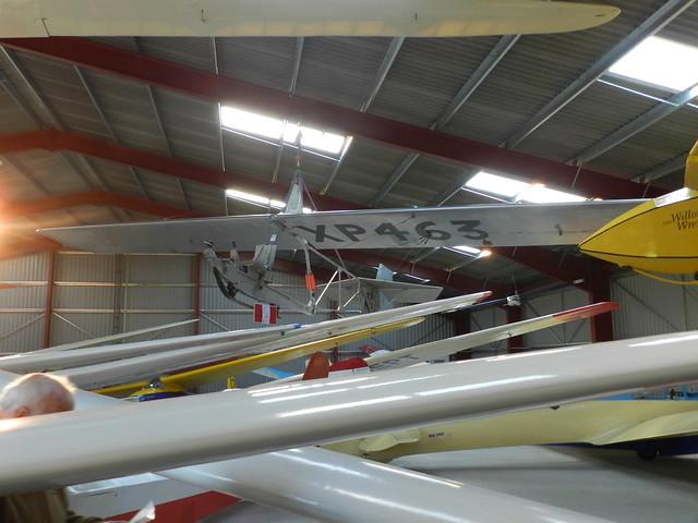 XP463 Slingsby T.38 Grasshopper glider