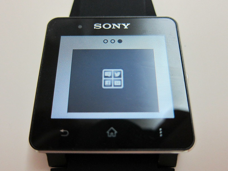 Sony SmartWatch 2 - Notification Style #3