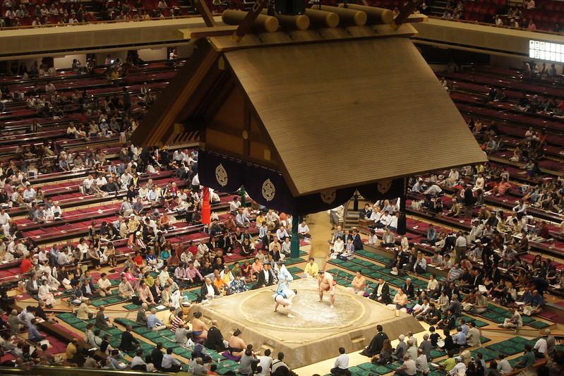Sumo Wrestling In Tokyo DSC03803