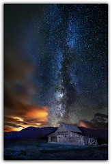 Northern Moulton Barn And Summer's Milky Way