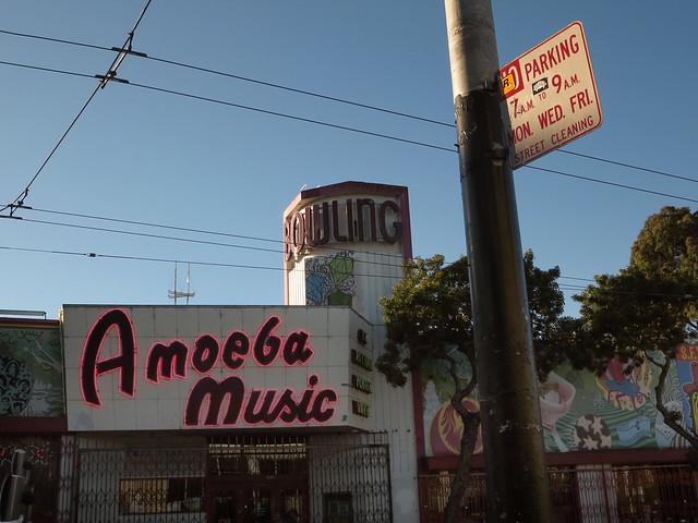 Amoeba Music on Haight St, San Francisco (2013)