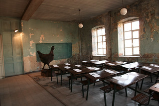 Classroom of Ioakimion School for Girls in Istanbul