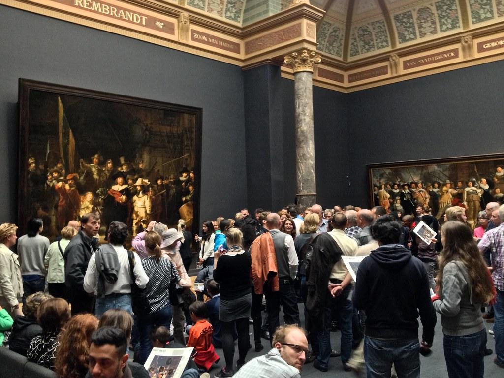 Rembrandt, Nightwatch, Rijks müzesi, Amsterdam
