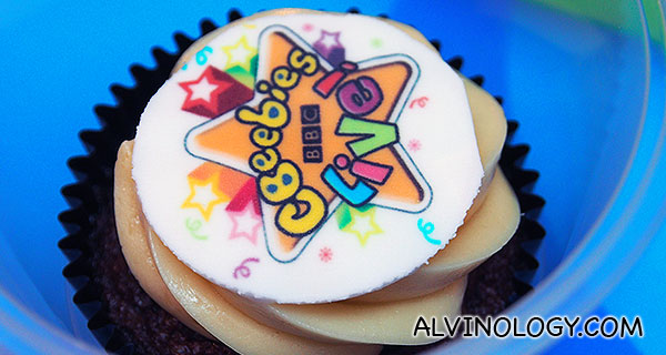 CBeebies cupcake!