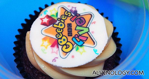 CBeebies cupcake!