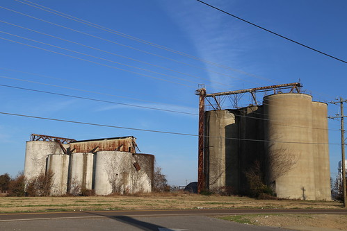 Tiptonville Tennessee, Grain Elevator, Lake County TN