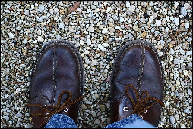 Old brown shoes by avantiurania, on Flickr