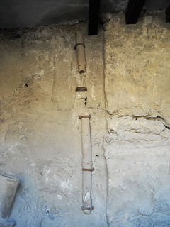 Drain pipe at Pompeii