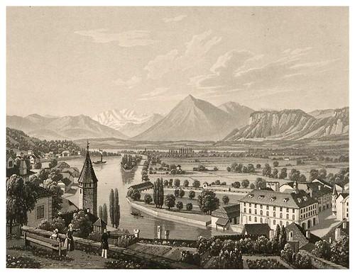 011- Thoune-Cinquante vues pittoresques de la Suisse… -Vía e-rara