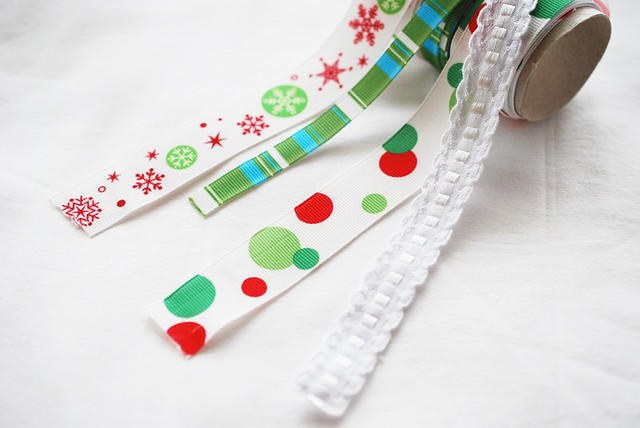 25 crafts of christmas // ribbons