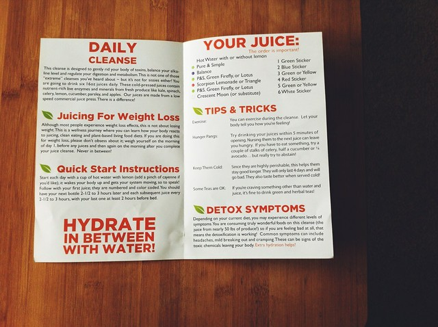 Skinny Limits Cleanse Manual