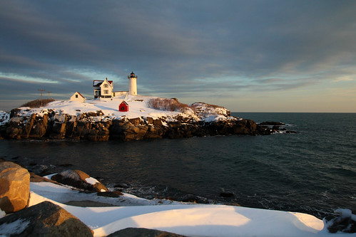 Nubble Light dressed for the holidays