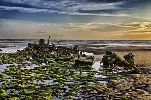 sunset sea beach canon photography passages steam shipwreck storms fishingboat hdr isleofman manx fishingtrawler ellanvannin tripleexpansionsteamengine steamtrawler jurbyhead canon1100d ramseyrocketbrigade passagestrawler