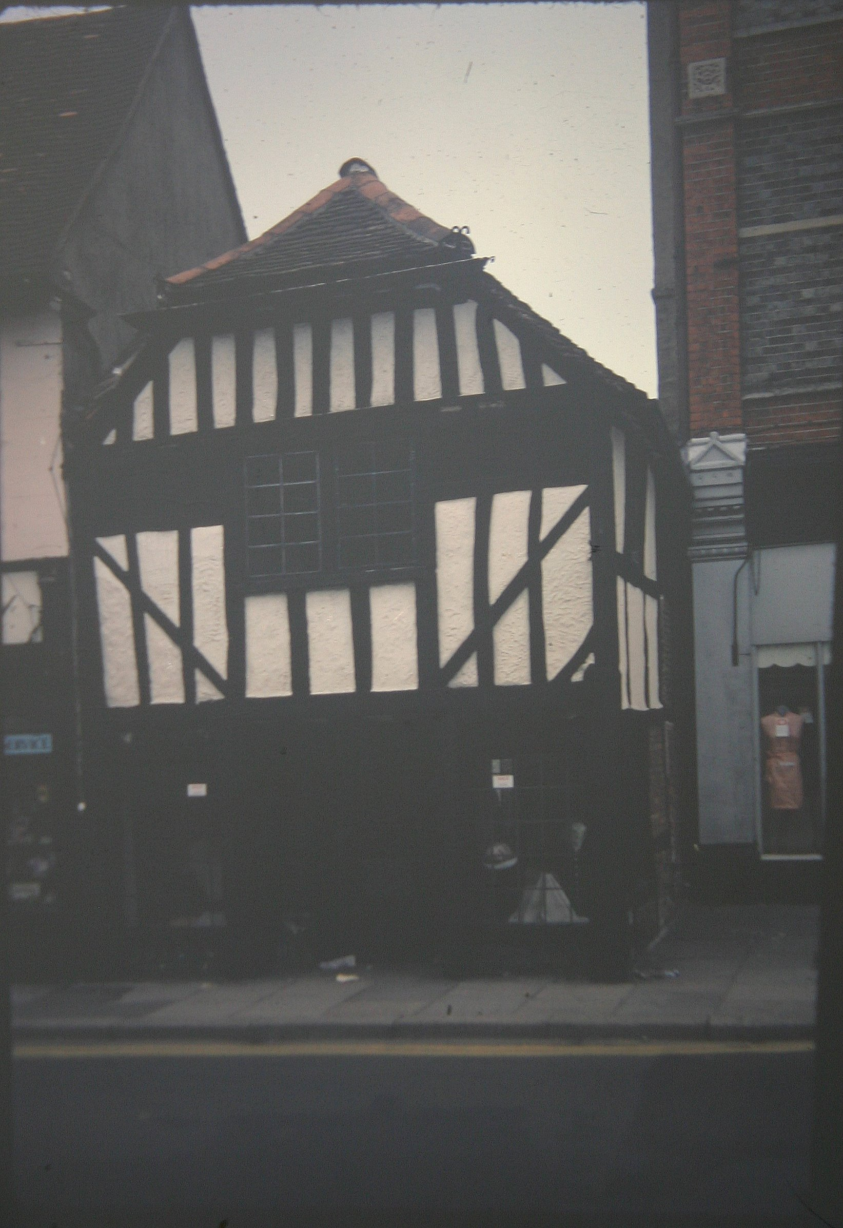 The old Tudor house along   Duke Street   in Henley hasn't changed much since the 1960s.    Photo kindly provided by Roy Sadler.