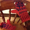 Mittens to match my hat! (Oops, no pic of that yet.)