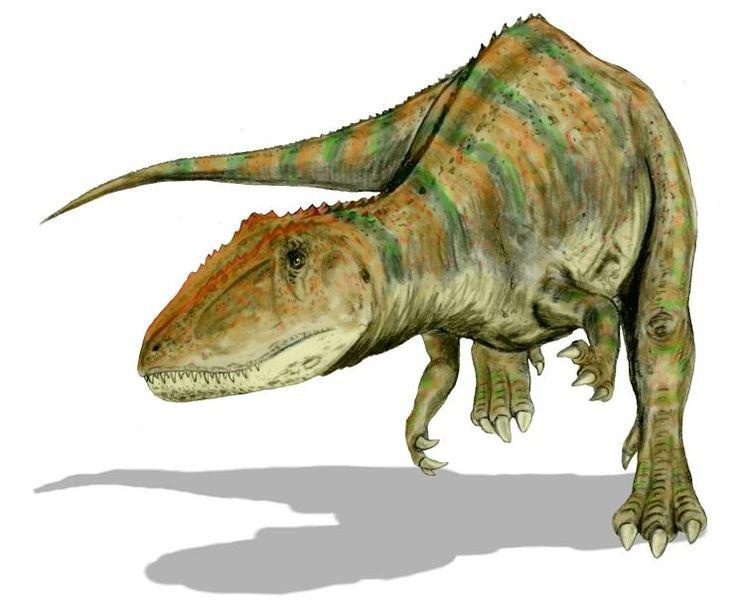 2. Carcharodontosaurus. Autor, Nobu Tamura