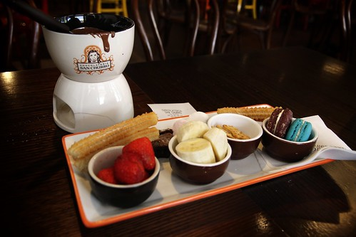 Chocolateria - Sampler Fondue