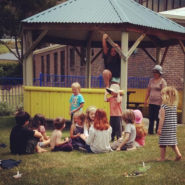 These kids #coop #village #summer #mates