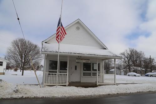 Winkinson Indiana, Post Office, 46186, Hancock County IN
