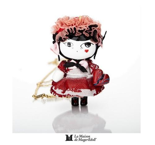 Mageritdoll: LOVE OBSESSION (Resin Art Doll Jewelry - Joyas de Muñeca. Muñeca artística resina) by La Maison de Mageritdoll