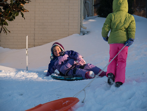 More sledding