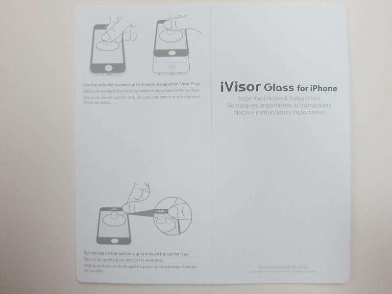 Moshi iVisor Glass - Instructions