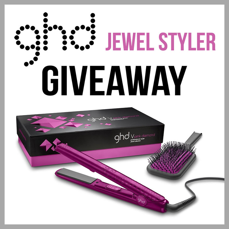 ghd Pink Diamond Styler Giveaway